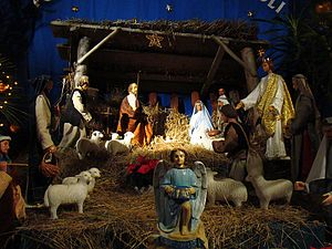 English: Nativity scenes in Sanok